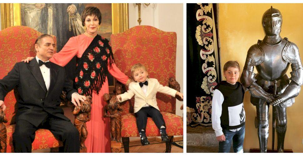 Curiozități despre familia Prințului Paul. Fiul de doar 10 ani este poliglot